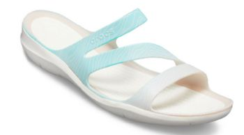 Crocs Womens Swiftwater Seasonal Graphic Sandal